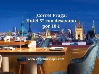 praga tarifa error hotel 5* desayuno 10 euros