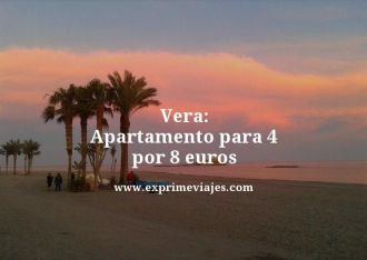 Vera apartamento para 4 por 8 euros
