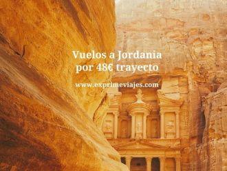 Vuelos a Jordania por 48 euros trayecto