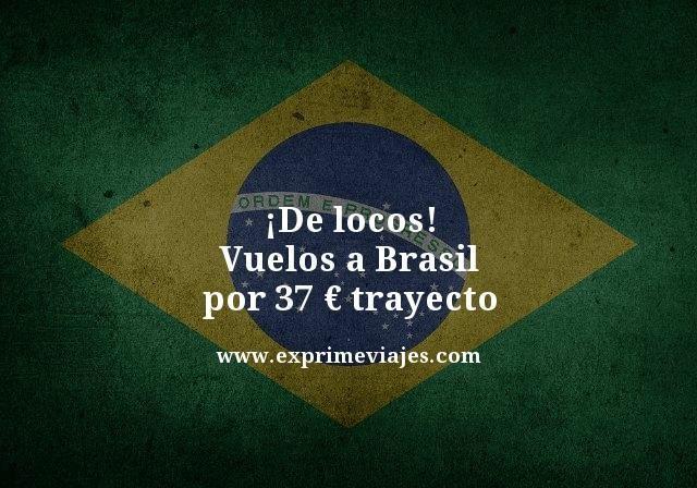 tarifa error vuelos brasil 37 euros trayecto