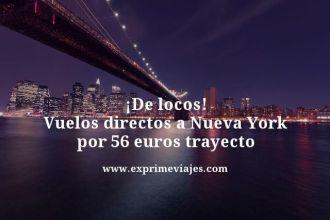 tarifa error vuelos directos barcelona nueva york 56 euros