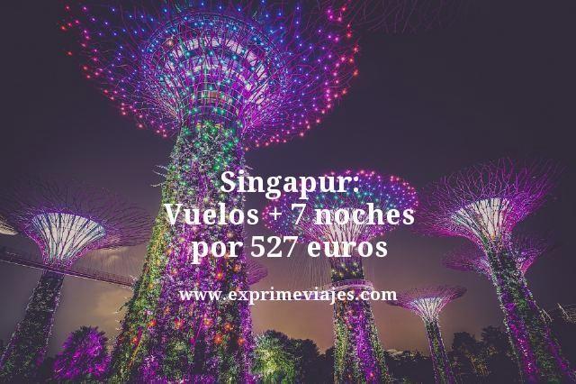 Singapur-Vuelos--7-noches-por-527-euros