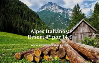 alpes italianos resort 4 estrellas por 14 euros