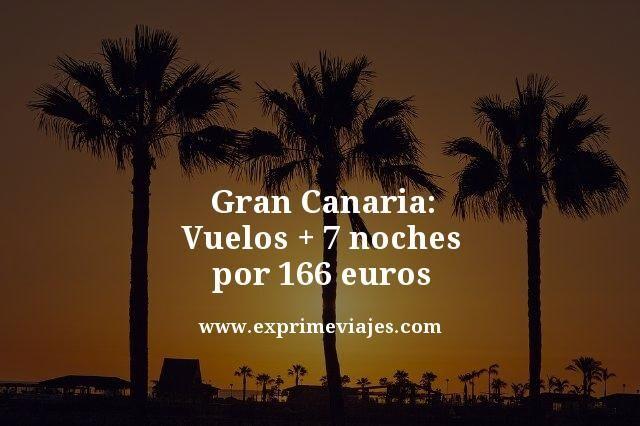 Gran-Canaria-Vuelos--7-noches-por-166-euros