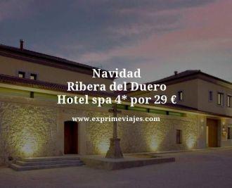 Navidad ribera del duero hotel spa 4 estrellas por 29 euros