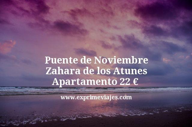 Puente de Noviembre Apartamento Zahara de los Atunes por 22euros