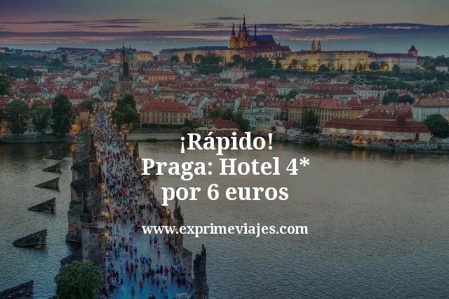 rapido praga hotel 4 estrellas por 6 euros