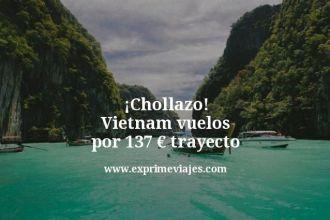 Chollazo Vietnam vuelos por 137 euros trayecto