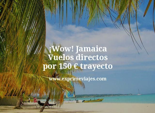 Jamaica: Vuelos directos por 150euros trayecto
