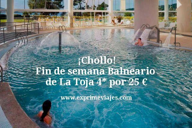 ¡Chollo! Fin de semana Balneario de La Toja 4* por 25€