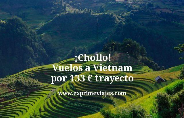 ¡Chollazo! Vuelos a Vietnam por 133euros trayecto