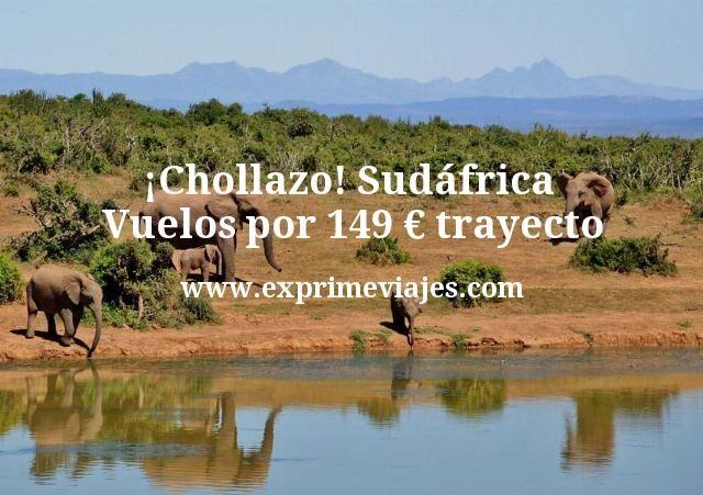 Chollazo Sudáfrica Vuelos por 149 euros trayecto
