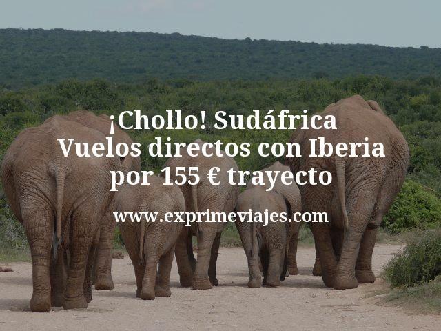 Chollo Sudafrica Vuelos directos con Iberia por 155 euros trayecto