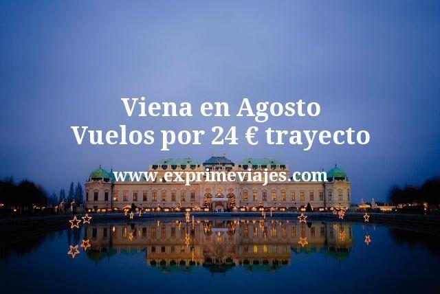 Viena en Agosto Vuelos por 24 euros trayecto