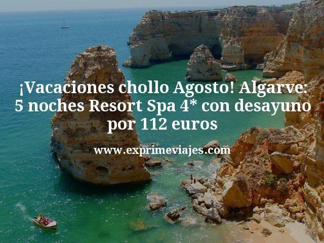 Vacaciones-chollo-Agosto-Algarve-5-noches-Resort-Spa-4-con-desayuno-por-112-euros