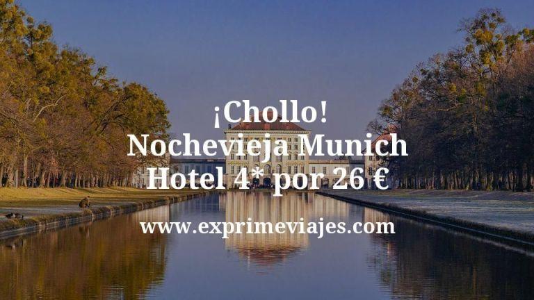 ¡Chollo! Nochevieja Munich: Hotel 4* por 26€ p.p/noche