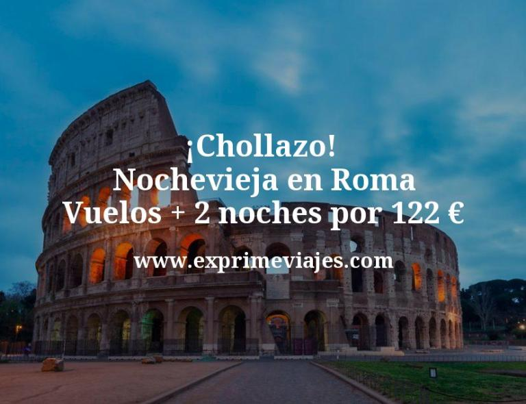 ¡Chollazo! Nochevieja en Roma: Vuelos + 2 noches por 122euros