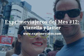 Vianella y Javier exprimeviajeros agosto