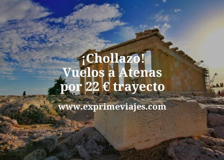 ¡Chollazo! Atenas: Vuelos directos por 22euros trayecto