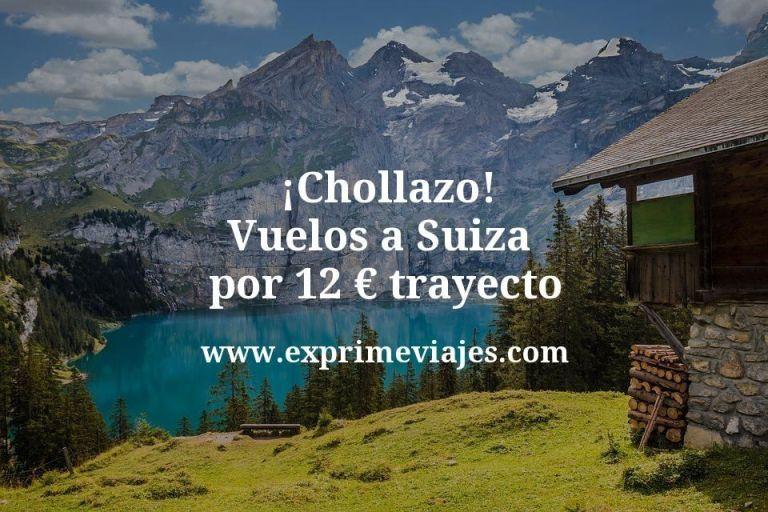 ¡Chollazo! Vuelos a Suiza por 12euros trayecto
