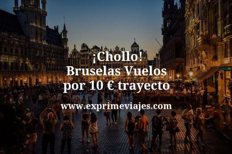 ¡Chollo! Bruselas: Vuelos por 10euros trayecto