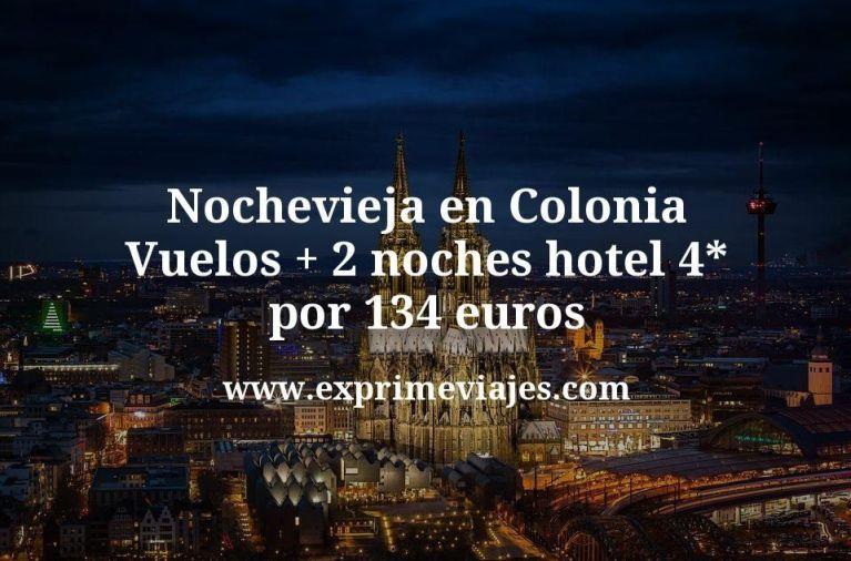 Nochevieja en Colonia: Vuelos + 2 noches hotel 4* por 134euros