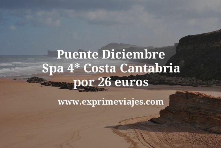 Puente Diciembre: Spa 4* Costa Cantabria por 26€ p.p/noche