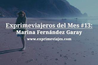 Exprimeviajera del mes Marina Fernández Garay