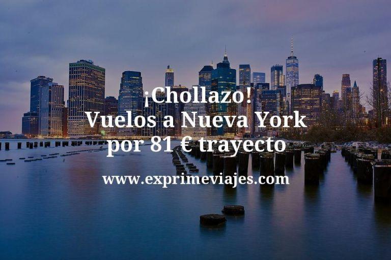 ¡Chollazo! Vuelos a Nueva York por 81euros trayecto