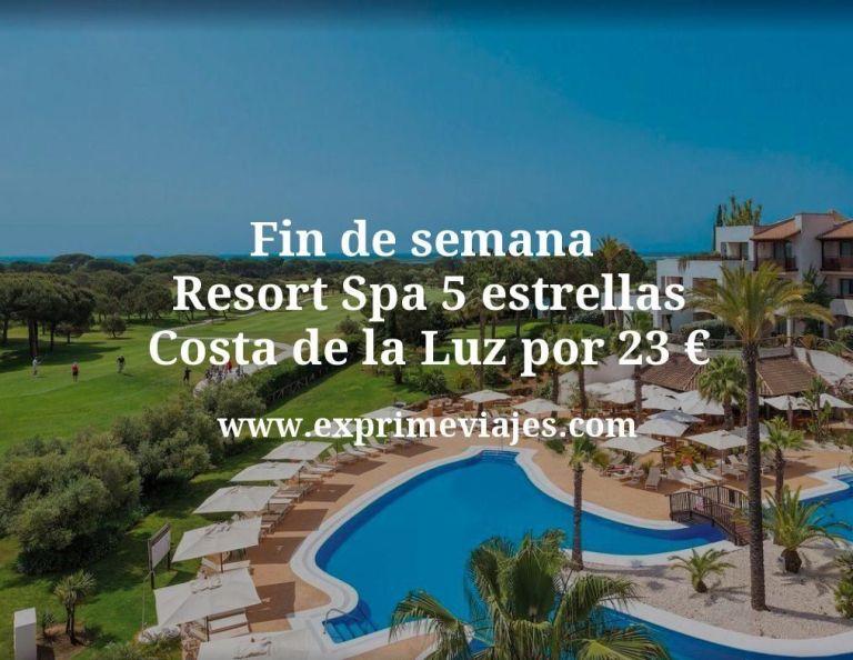 ¡Ganga! Fin de semana Resort Spa 5* Costa de la Luz por 23euros