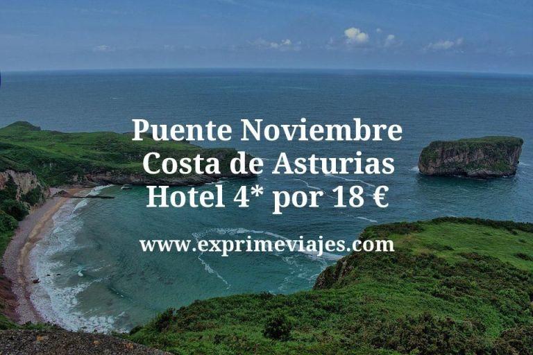Puente Noviembre Costa Asturias: Hotel 4* por 18€ p.p/noche