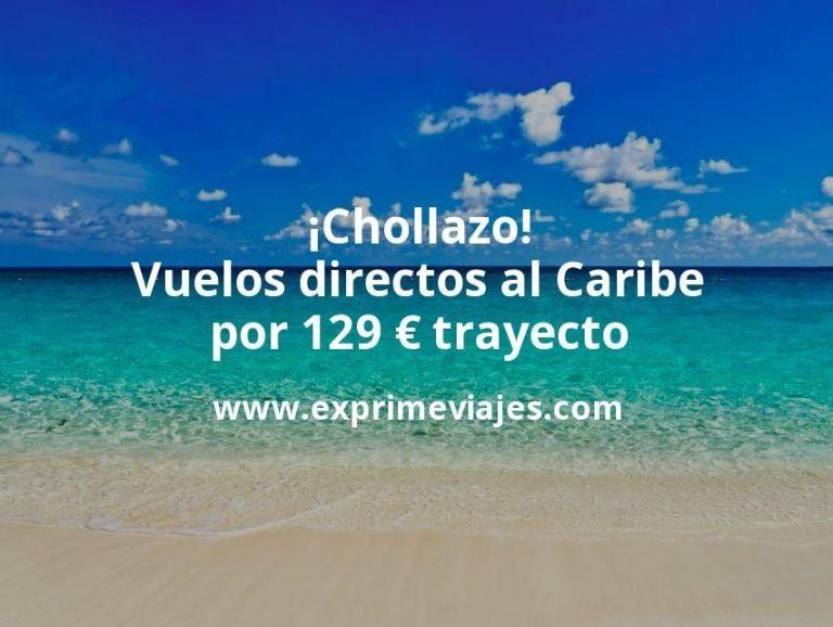 ¡Chollazo! Vuelos directos al Caribe por 129euros trayecto