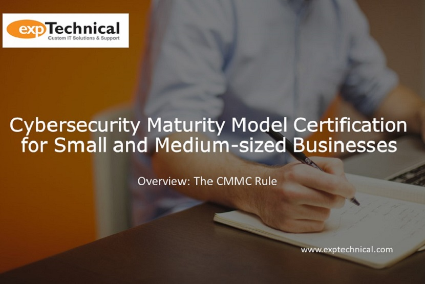 Cybersecurity Maturity Model Certification for SMB Overview