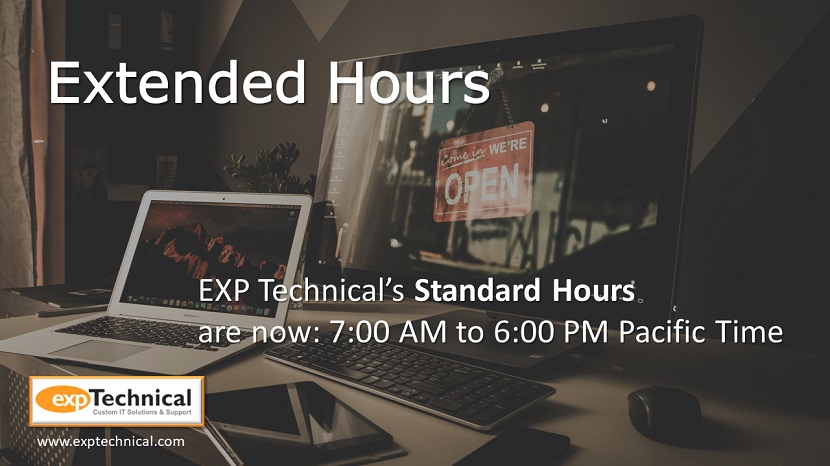 Extended Hours Announcement