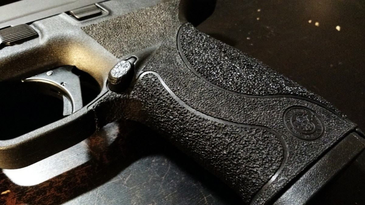 Stippling M&P full-size - How to prepare, practice and go for it!