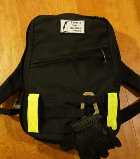 GR-0 was the ruck for my first Goruck Light challenge