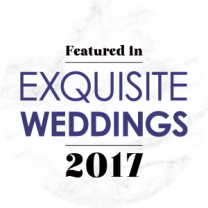 Featured in Exquisite Weddings 2017
