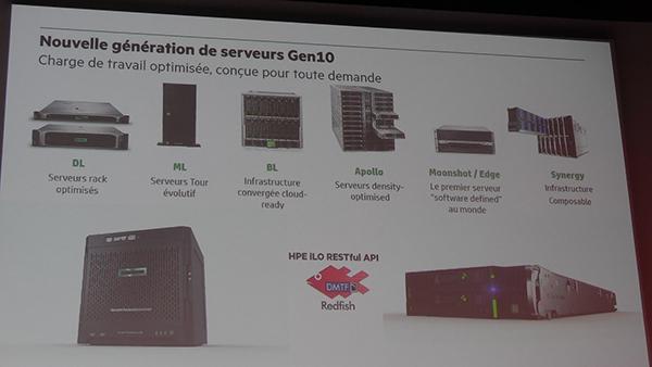 Soirée lancement Gen10 HPE Gamme de serveurs
