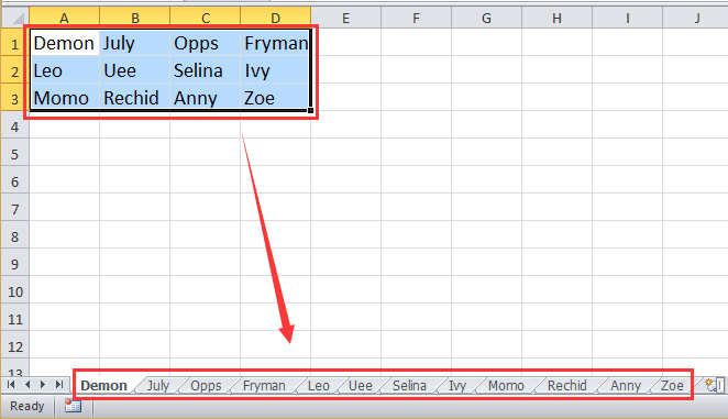 How To Rename Worksheets Based On Cell Values In Excel