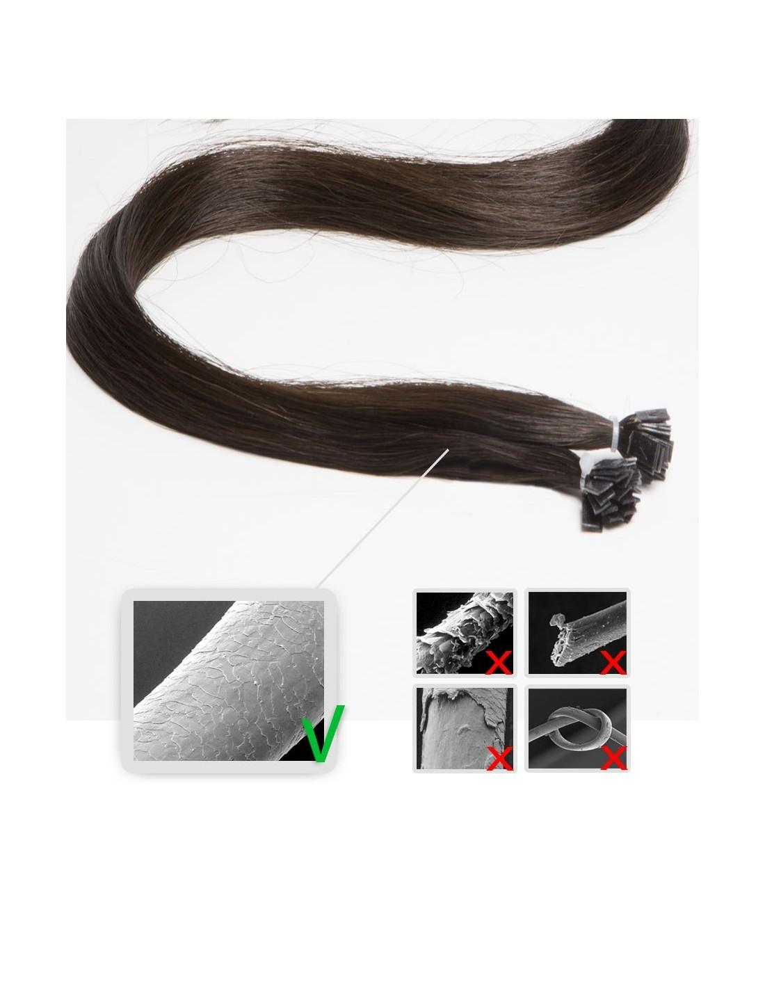 Keratin Haarverlngerungen Strhnen Echthaar Extens Hair