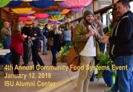 2018 Community Food Systems event