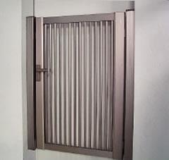 門扉「縦格子セットSH1型片開き」
