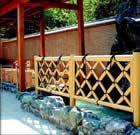 人工竹フェンス「竜安寺垣」
