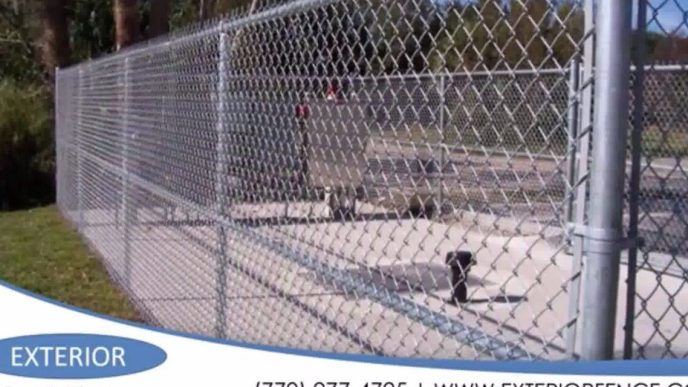 Spectra Coated Chain Link Fence