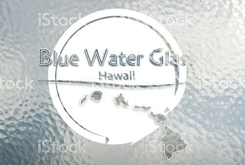 Blue Water Glass - Hawaii (Oahu)