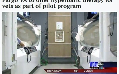 Fargo VA to offer hyperbaric oxygen therapy for vets as part of pilot program