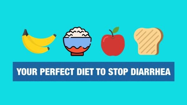 Apples prevent diarrhea