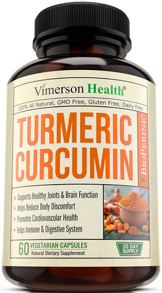 Termeric Curcumin, 10 best anti-oxidant supplement