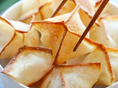 Baked Cream Cheese Wontons from f0o0od