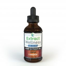 100% THC Free Hemp Oil - Cinnamon